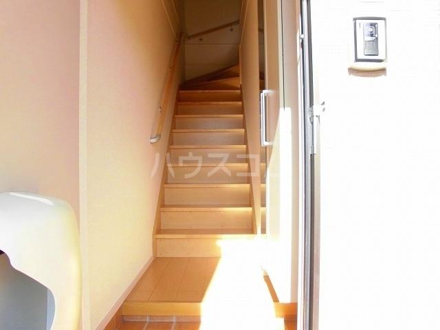 スウィートピーB 02040号室の玄関