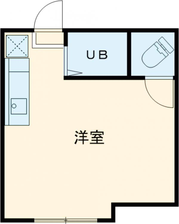 ザ・アーバンテラス高田馬場・102号室の間取り