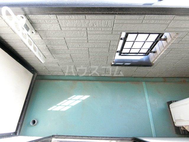 ルミエール原田 203号室のバルコニー