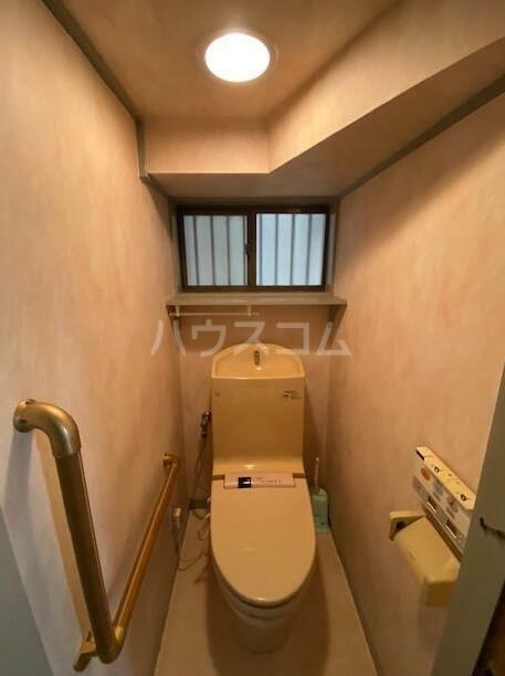 南雪谷1丁目住宅のトイレ