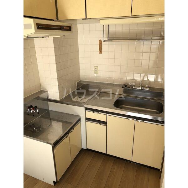 グランディール大金 305号室のキッチン