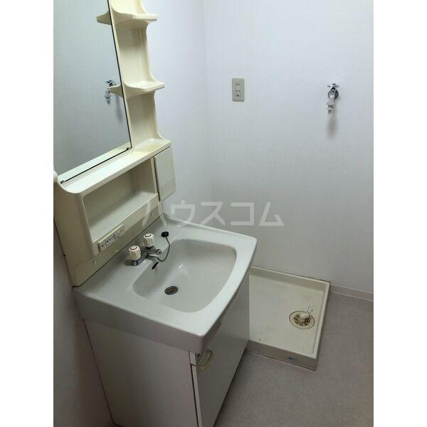 グランディール大金 305号室の洗面所