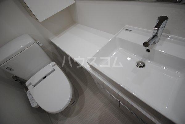プレミアムキューブ大崎 212号室の洗面所