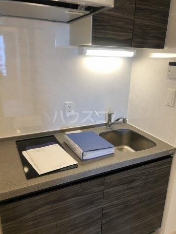 びゅうリエットグラン新宿戸山 1014号室のキッチン
