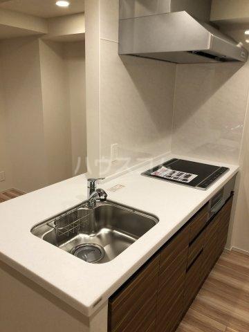 びゅうリエットグラン新宿戸山 519号室のキッチン