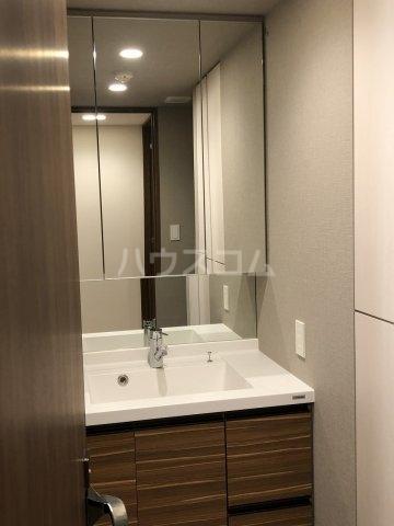 びゅうリエットグラン新宿戸山 519号室の洗面所