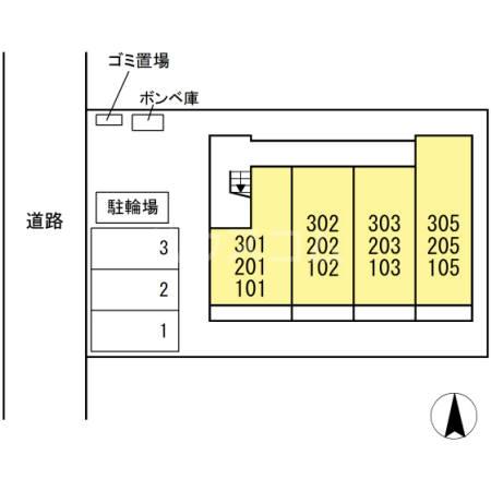 仮)D-room岡田 103号室のその他