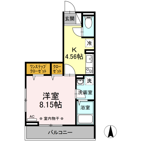仮)D-room岡田 301号室の間取り