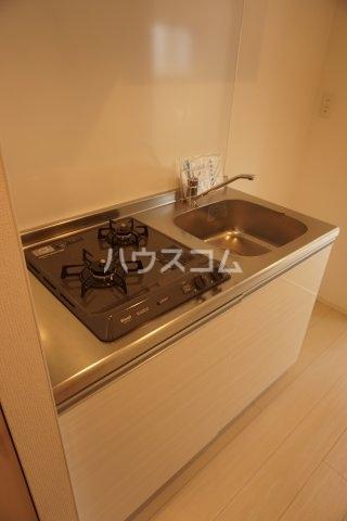 リブリ・グランコンフォート 107号室のキッチン