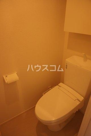 リブリ・グランコンフォート 107号室のトイレ