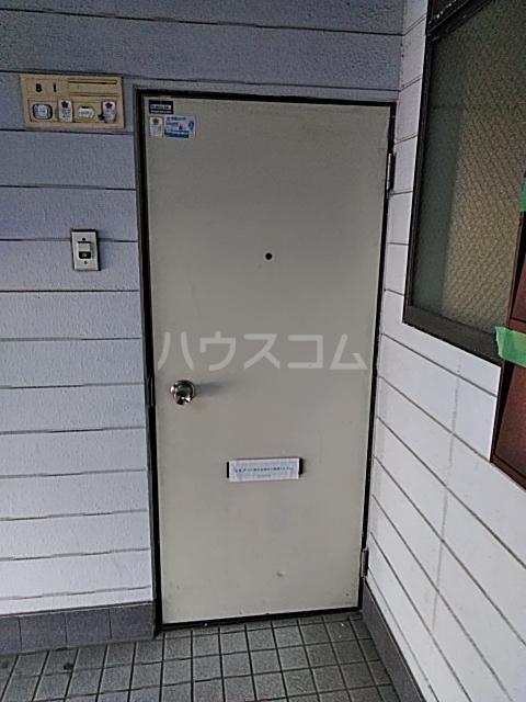 竹ノ下コーポB 1号室の玄関