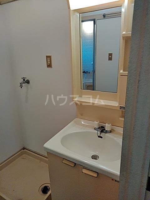 竹ノ下コーポB 1号室の洗面所