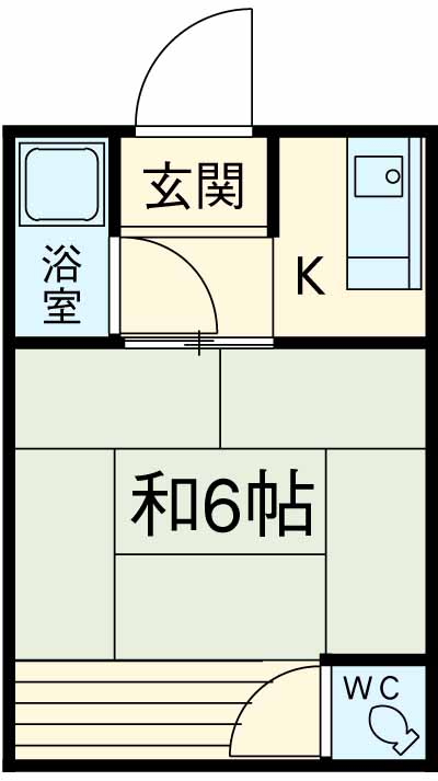 みその荘・13号室の間取り