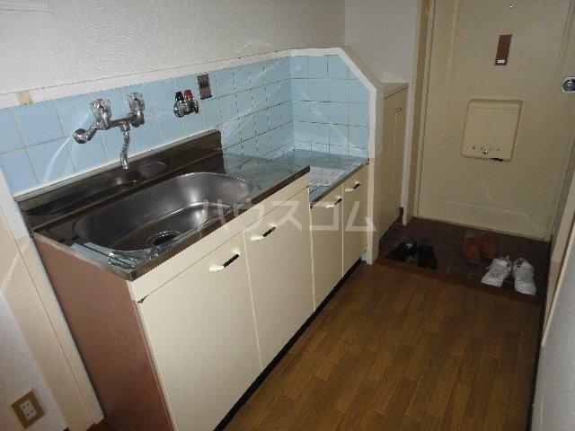 テラスワン17 101号室のキッチン