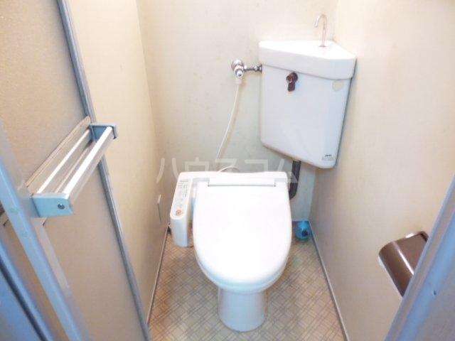 サンリーベプラザ 201号室のトイレ