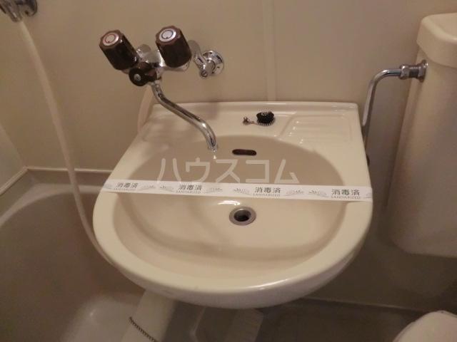 Kozy3番館 210号室の洗面所
