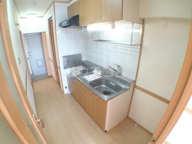 クレセント きららⅡ 08020号室のキッチン