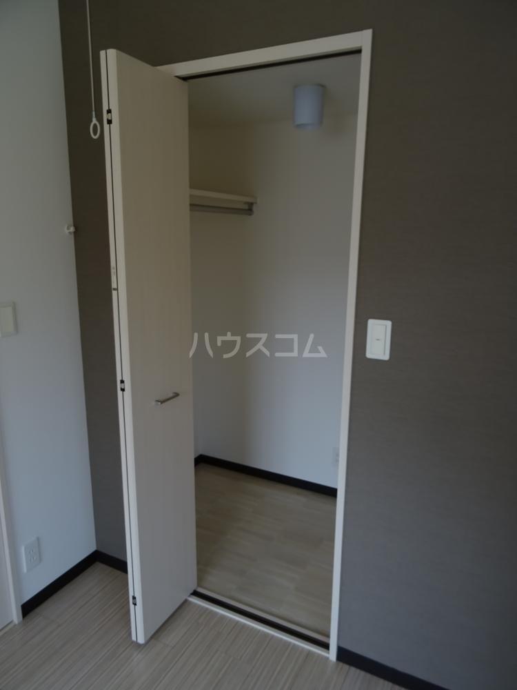 サリエンテⅢ 101号室の収納