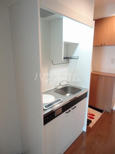 シャローム桂 203号室のキッチン