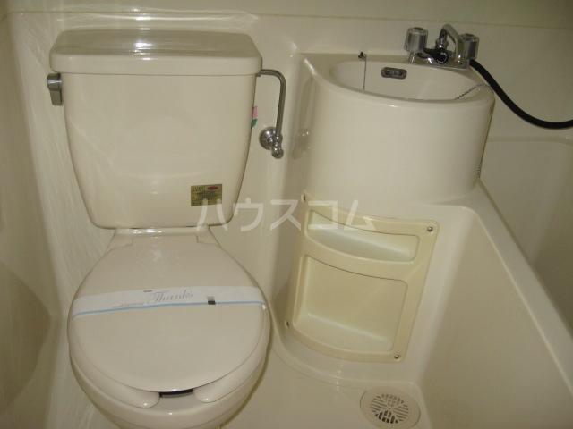 ラリューセたけじ 103号室のトイレ