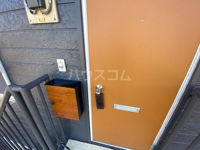 エヌズハウスⅡ 202号室の玄関