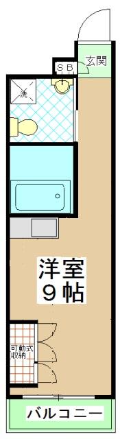 G-Design京都西院・201号室の間取り