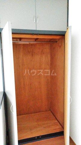 アネックス中川C 110号室の収納