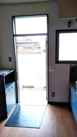 アネックス中川C 110号室の玄関