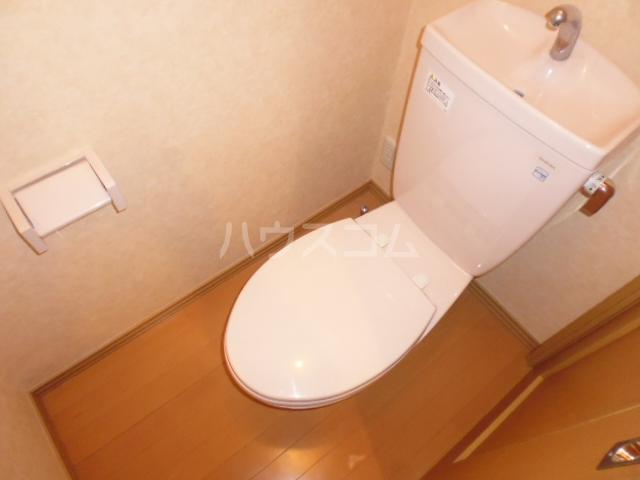パレスサイド桂 105号室のトイレ