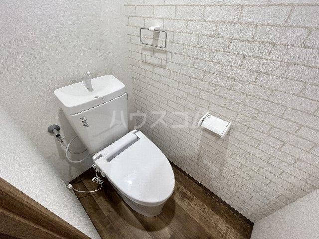 グレーシー西ノ京 407号室のトイレ
