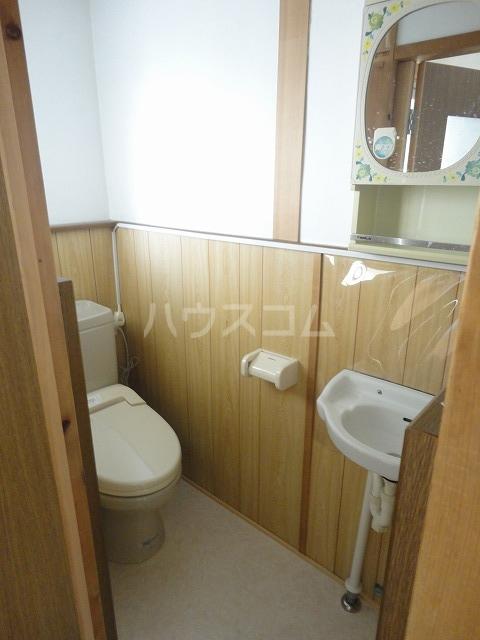 富貴ハイツ 201号室のトイレ