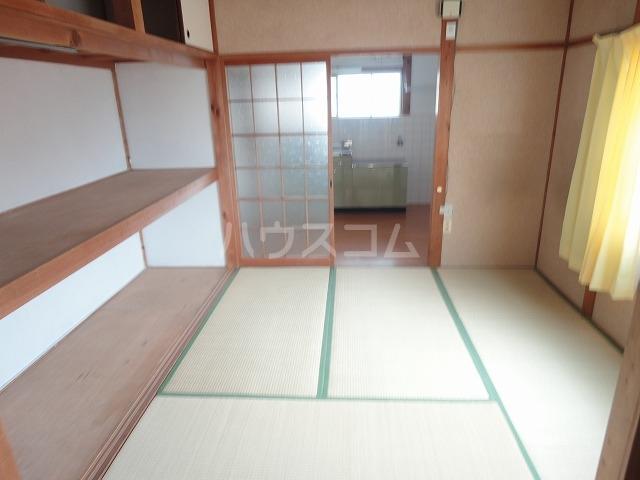 富貴ハイツ 201号室のベッドルーム