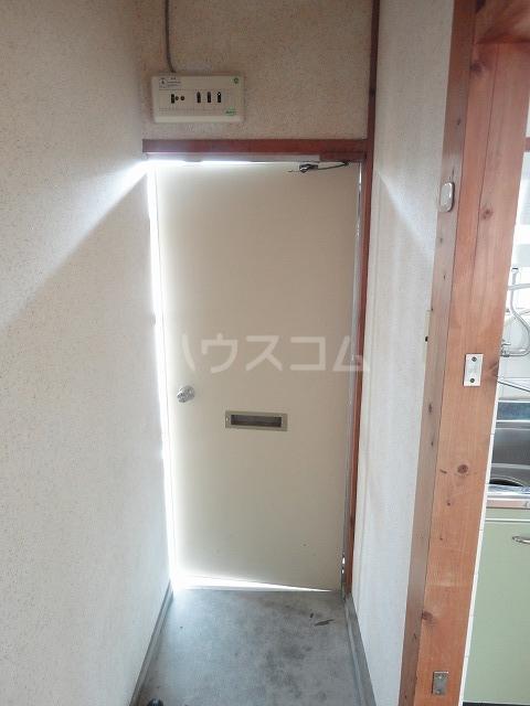 富貴ハイツ 201号室の玄関
