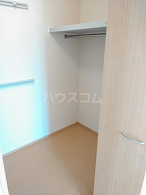 セジュールブリエ 201号室の収納