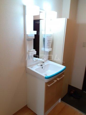 キャピタルミサト 106号室の洗面所