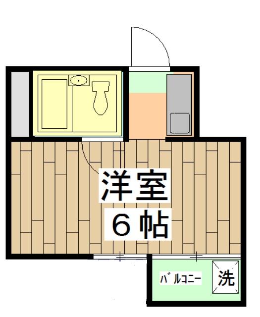 第28長栄四条SKハイツ 401号室の間取り