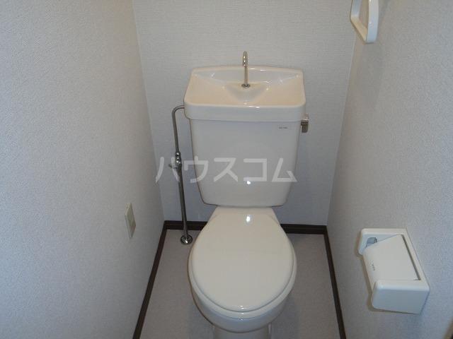 一谷ハイツ 1-3号室のトイレ