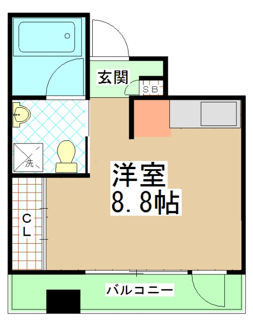 G-Design京都西院・310号室の間取り
