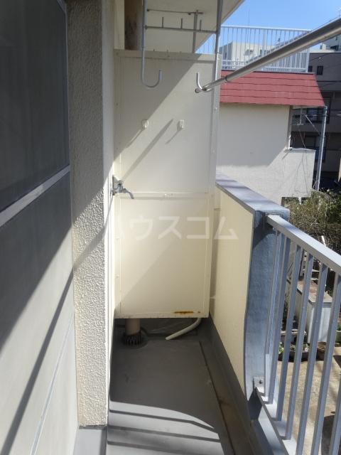 富士美ハイツ 204号室のバルコニー