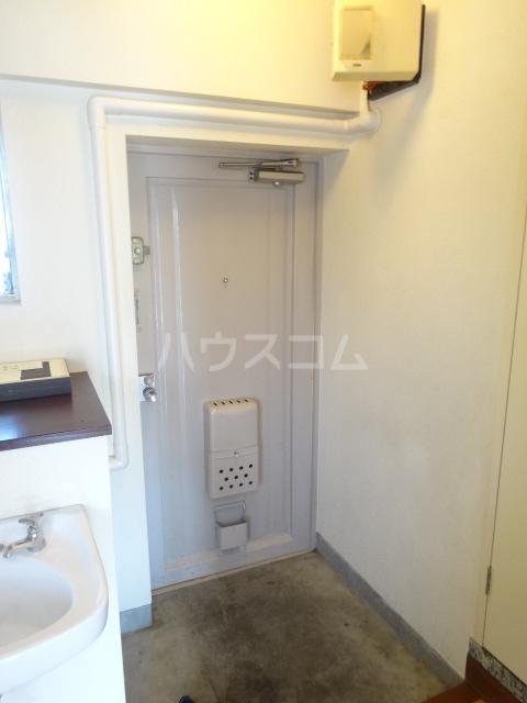 富士美ハイツ 204号室の玄関
