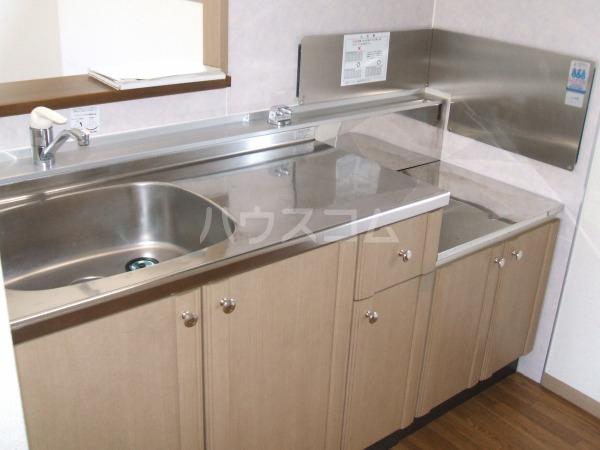 デイスターS 205号室のキッチン