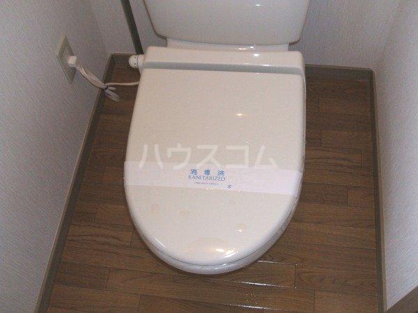 デイスターS 205号室のトイレ