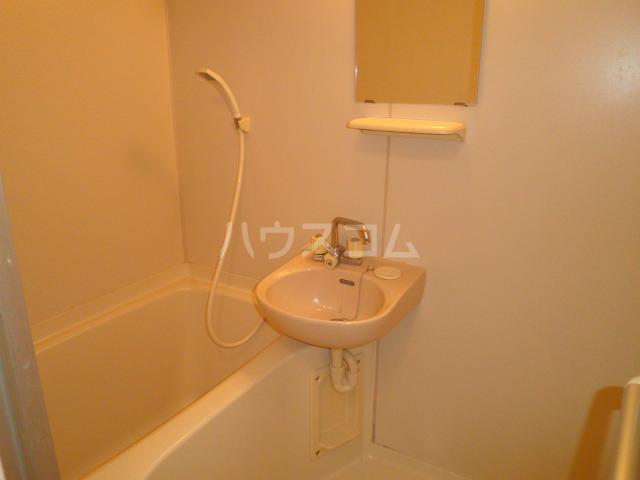 池上コーポ 201号室の洗面所