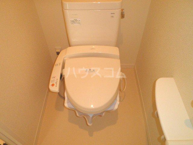 グロリオーサのトイレ