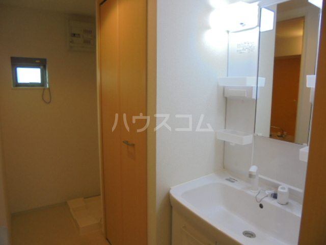 リビエスタⅡ 01010号室の洗面所