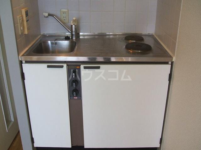 ハイデ野田 0201号室のキッチン