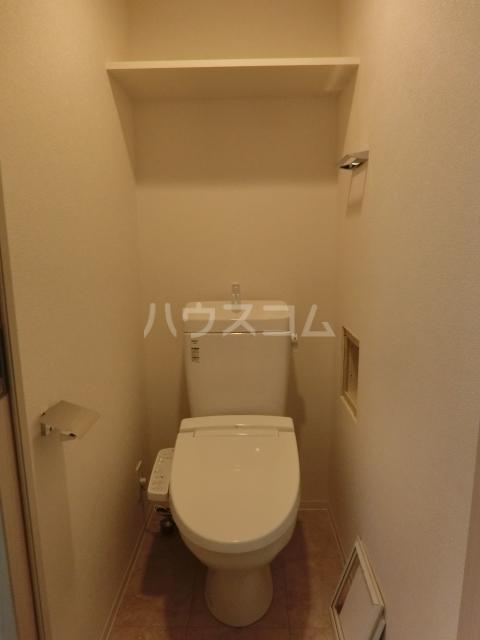 アステリ鶴舞エーナ 205号室のトイレ