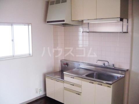 グランパス21 01010号室のキッチン