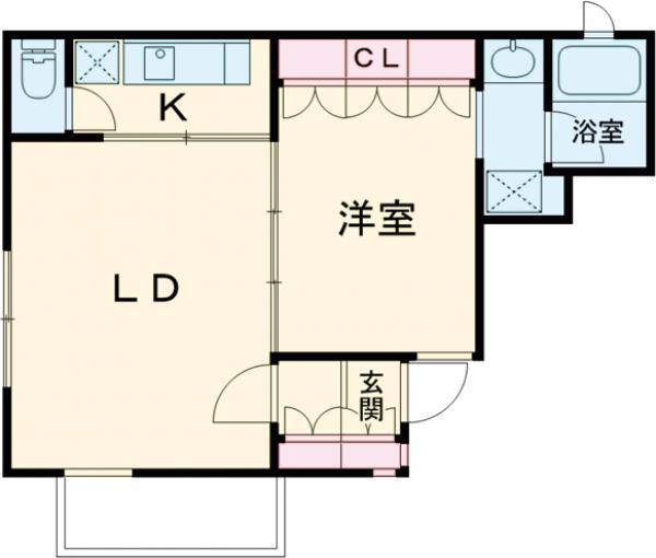 Meguro Point・101号室の間取り