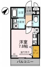 (仮)東川口3丁目D-room 302号室の間取り